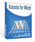 kutools for word v9.0官方版